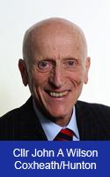 Profile image for Councillor John A Wilson