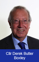 Photograph of Councillor Derek Butler