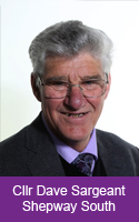 Profile image for Councillor Dave Sargeant