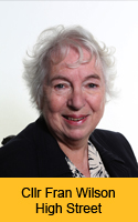 Photograph of Councillor Fran Wilson